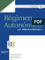 Cartilla UNO Régimen Autonómico