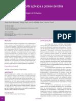Artigo 01 Tecnologia CAD CAM Aplicada a Protese Dentaria e Sobre Implantes o Que e Como Funciona Vantagens e Limitacoes Revisao Critica Da Literatura