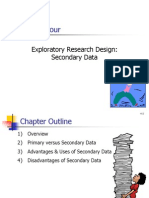 4 Exploratory Research Design-secondary Data