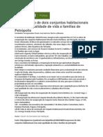 Jus Brasil - Recuperação de conjuntos leva qualidade de vida a famílias de Petrópolis