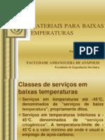 4.12 Materiais Para Baixas Temperaturas - Fernando