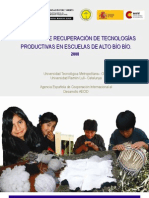 MEMORIA Programa de Recuperación de Tecnologías Productivas 2008