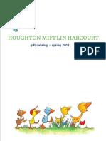 HMH Books Spring 2013 Gift Catalog