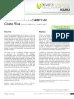 Procesamiento, uso y mercado de la madera en Costa Rica