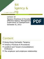 Lecture 10 - Tenancy Practices and Procedures(1)