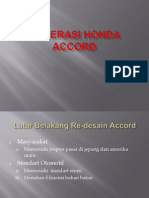 Generasi Honda Accord