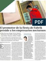 EL PRINCIPAL EMPRESARIO DEL MADO Y PRESIDENTE DE EMPRESARIOS DE LA NOCHE SUSPENDE LA FIESTA GOA