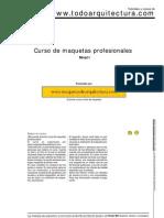 Modelismo Curso de Maquetas Maquetas de Arquitectura