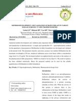 Method Development and Validation of Roflumilast in Tablet