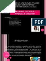 Paradigmas en La Educacion