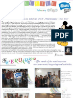 AFS Newsletter February Edition 2012