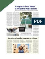 D.O - Moradias na Zona Oeste passam por reformas