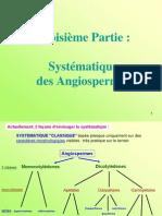 Systematique des Angiospermes