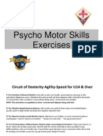 ACF Fiorentina Player Development - Psycho-Motor Skills
