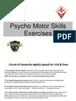 ACF Fiorentina Player Development - Psycho-Motor Skills