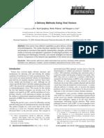 Vaccine Delivery Methods Using Viral Vectors
