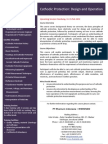 Cathodic Protection Course Brochure