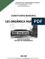 LEI ORGÂNICA DO MUNICÍPIO DE MORENO