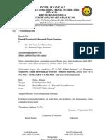 Surat Undangan Dan Perizinan