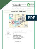 Cuenca de Huaura - Informe
