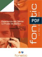 Experiencia Cliente