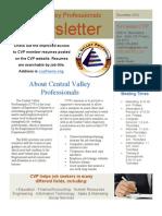 CVP December newsletter