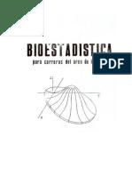 BIOESTADISTICA ( Para Carreras Del Area de La Salud)
