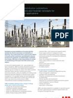 Transmission and distribution substations
