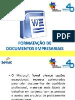 formatação de documentos