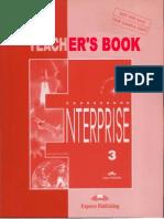 Enterprise 3 Teacher s Book