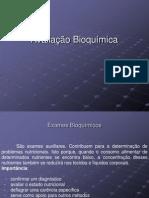 Avaliação bioquimica