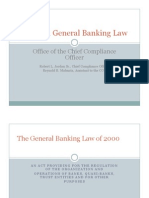 RA 8791 General Banking Law