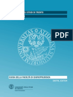 Giuda a giurisprudenza Università di Trento