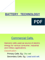 Battery Technology New