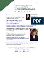 Sarbanes Oxley News December 2012