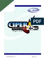 Ficha Tecnica Cipermetrina 25 EC