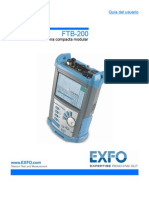 User Guide FTB-200 Spanish