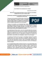BOLETÍN DE PRENSA N° 01-2013