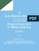 A.A. SERVICE MANUAL