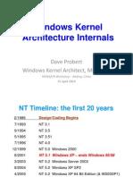 WIndows Kernal Internals