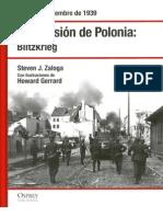 [Osprey] La Invasion de Polonia. Blitzkrieg (2007)