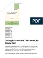 Telling Fortunes by Tea Leaves