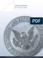 SEC Financial Agency Report FY 2012