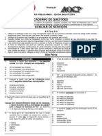01-2004 Auxiliar de Serviços [Nível Fundamental]