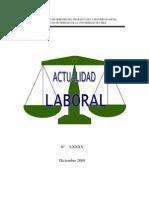 Actualidad Laboral Diciembre 2009