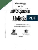 metodologia de la investigacion holistica