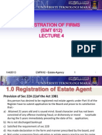 Lecture 4 - Registration of Firms