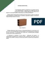 INFORME DE RESISTENCIA DE UNIDAD DE MAMPOSTERIA