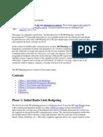 RF Planning Document