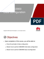 OMB311400 DBS3900 GSM Data Configuration ISSUE1.0